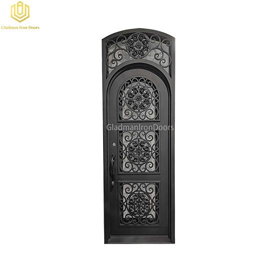 Single  Aluminum Front Door