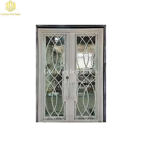 Luxury Hurricane Resistant Double Door with Stable Frame