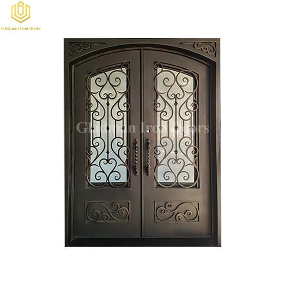 Aluminum Glass Door Frame Exterior Double Door