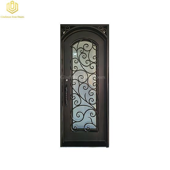 Iron Front Entry Door Wrought Iron Door in Metal Door