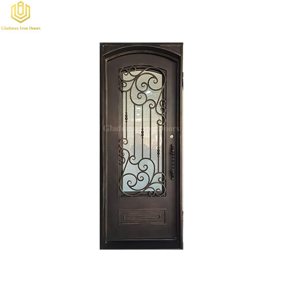 Interior Solid Steel Door Square Beautiful Frame Eyebrow