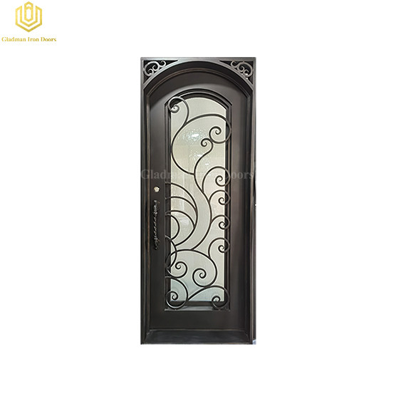 Wrought Iron Front Door Single Gate Design Wrought Iron Door