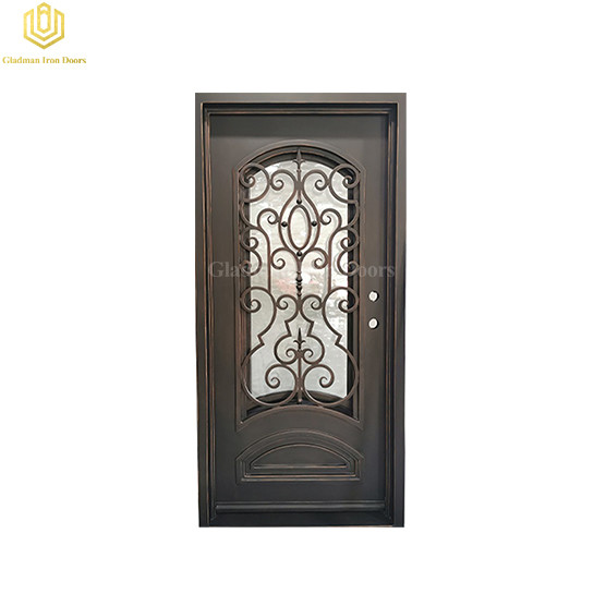 Low Cost Steel Entrance Door Entry Doors Iron Door for Room