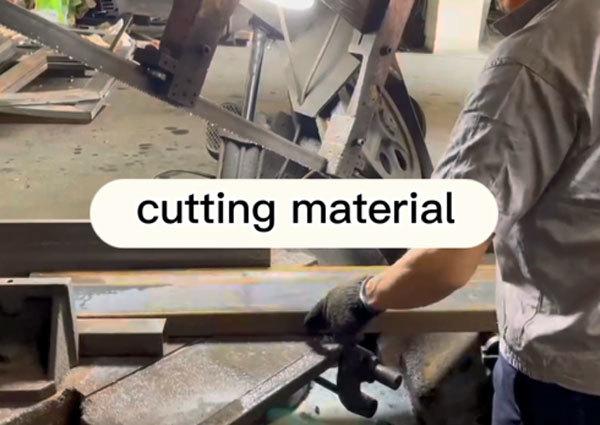 GLADMAN IRON DOORS | Technological Process -- Cutting Material