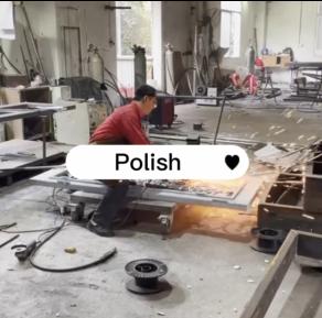 GLADMAN IRON DOORS | Technological Process -- Polish