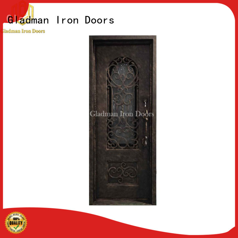 100% quality wrought iron doors manufacturer for sale