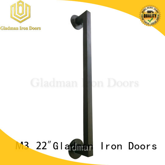 Gladman rich experience iron door handles from China for retailer
