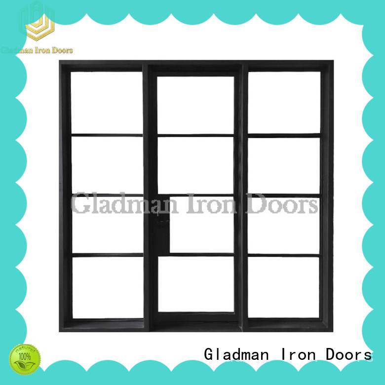 Gladman 2020 new design french doors wholesale for living room
