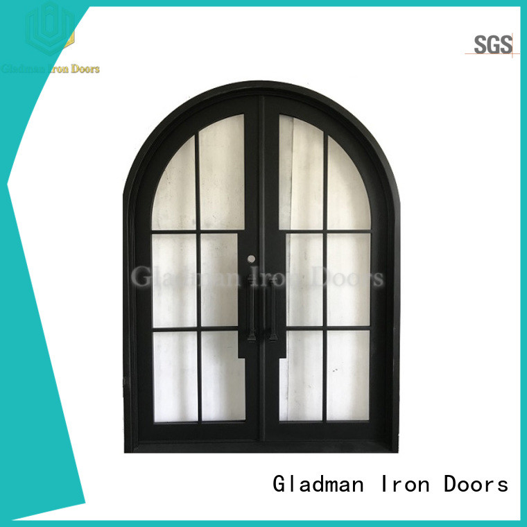 Gladman double front doors wholesale for outdoor