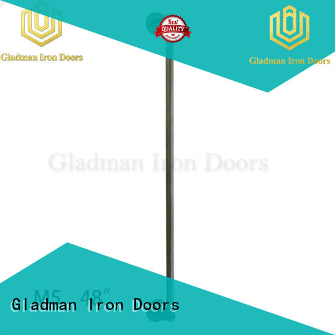 Gladman rich experience iron door handles from China for distribution
