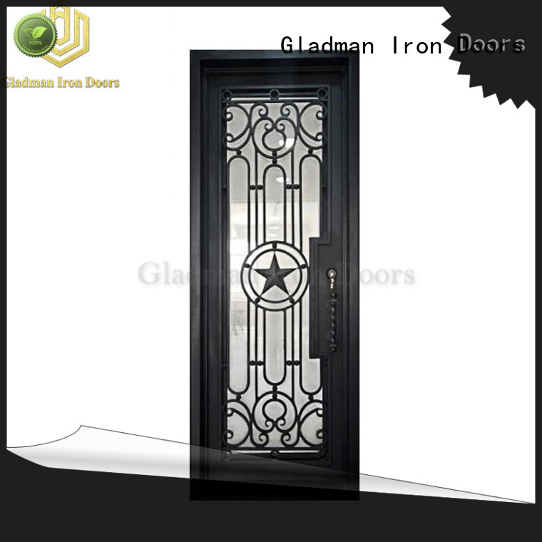 100% quality wrought iron security doors one-stop services