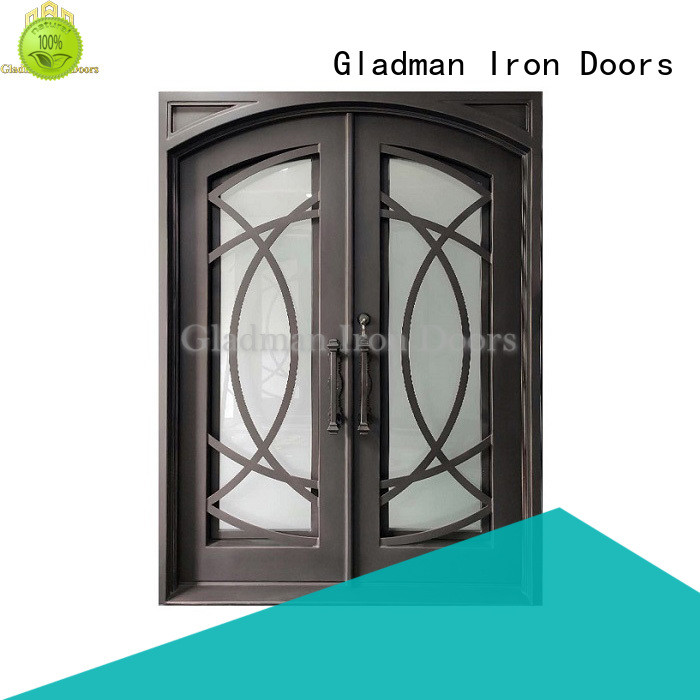hot sale double iron doors wholesale for home