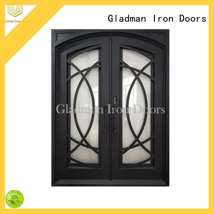 gorgeous iron double door design manufacturer for home