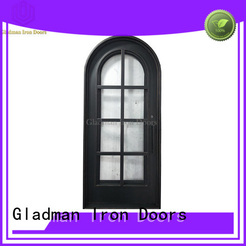 Gladman high quality wrought iron security doors supplier for sale