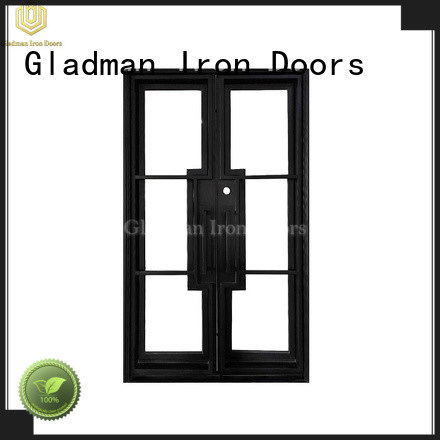 Gladman luxury black french doors wholesale for living room