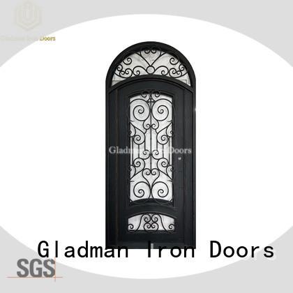 Gladman 100% quality wrought iron doors manufacturer