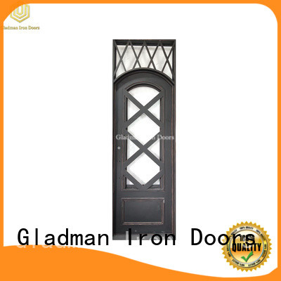 100% quality single iron door design factory for sale
