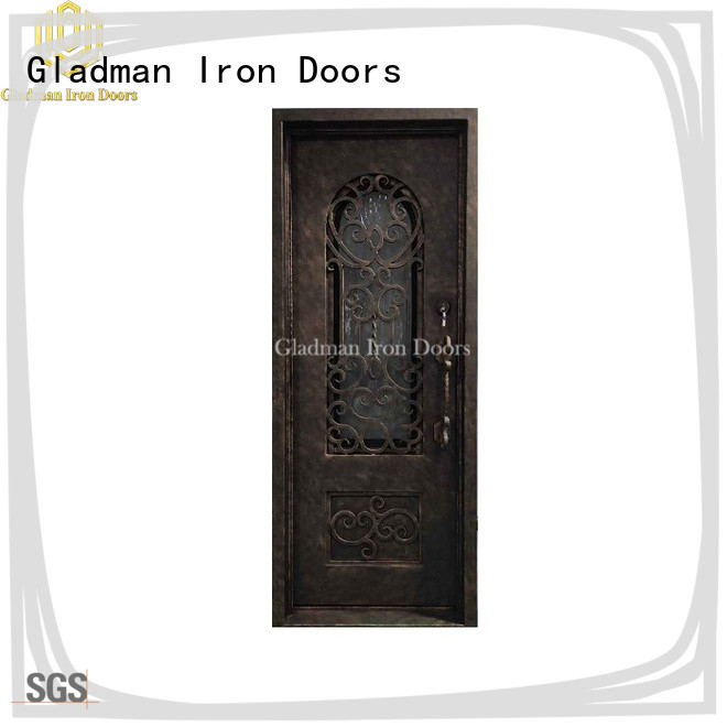Gladman high quality single iron door design supplier for sale