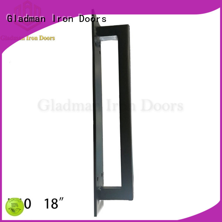 Gladman wrought iron door handles exclusive deal for retailer