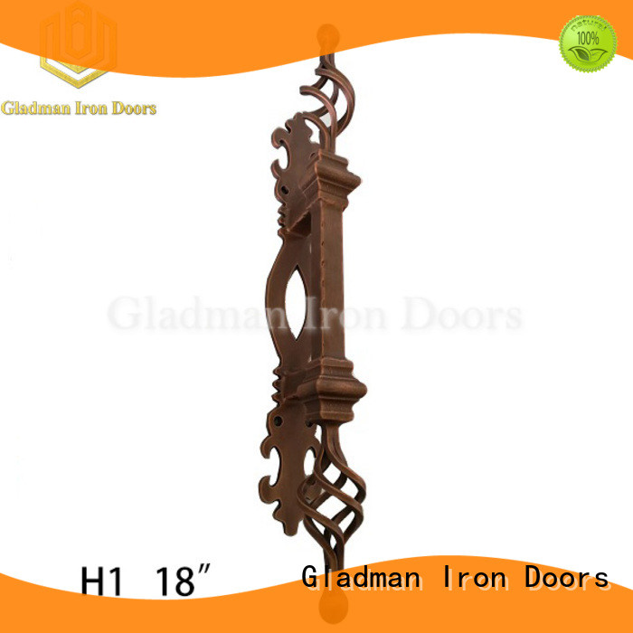 Gladman iron door handles exclusive deal for distribution