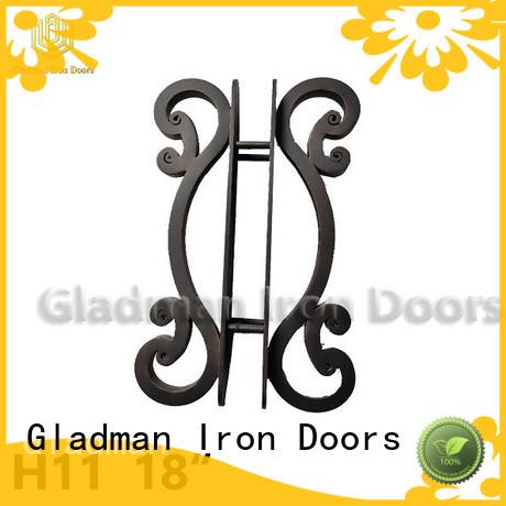 Gladman hot sale wrought iron door handles exporter for distribution