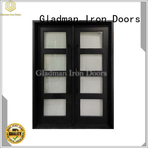 Gladman iron double door design manufacturer for home