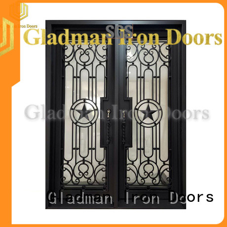 Gladman classic double iron doors wholesale for sale