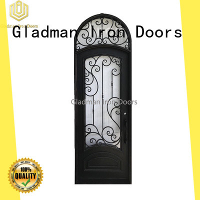 Gladman 100% quality wrought iron security doors supplier