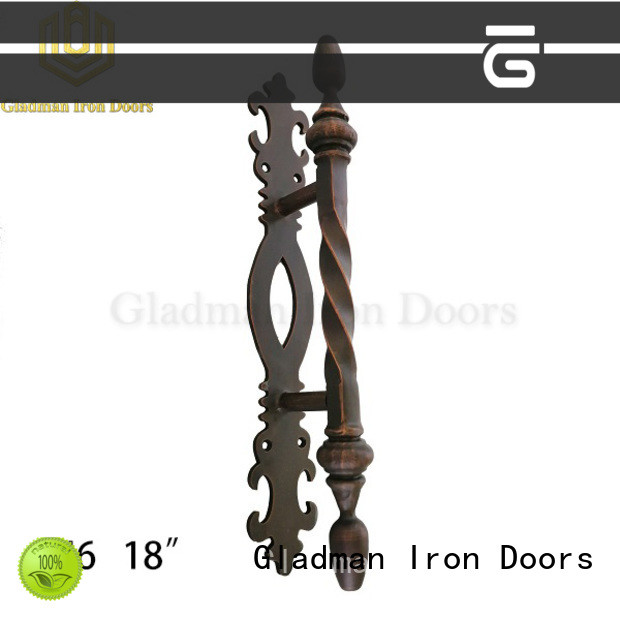 Gladman rich experience wrought iron door handles exporter for retailer