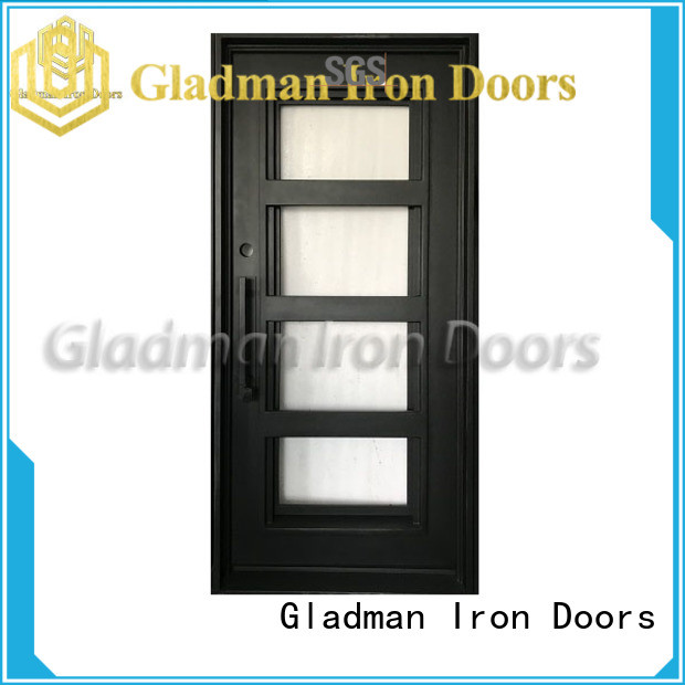 Gladman high-end quality wrought iron security doors one-stop services for sale