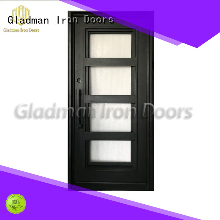 Gladman wrought iron security doors supplier for sale