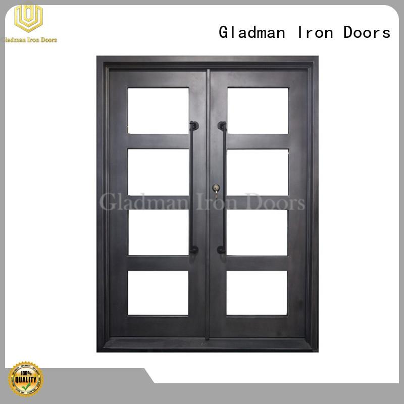 Gladman metal double doors wholesale for home