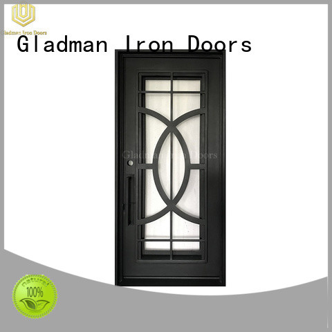 Gladman high quality wrought iron doors supplier