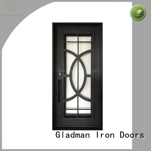high quality wrought iron doors factory