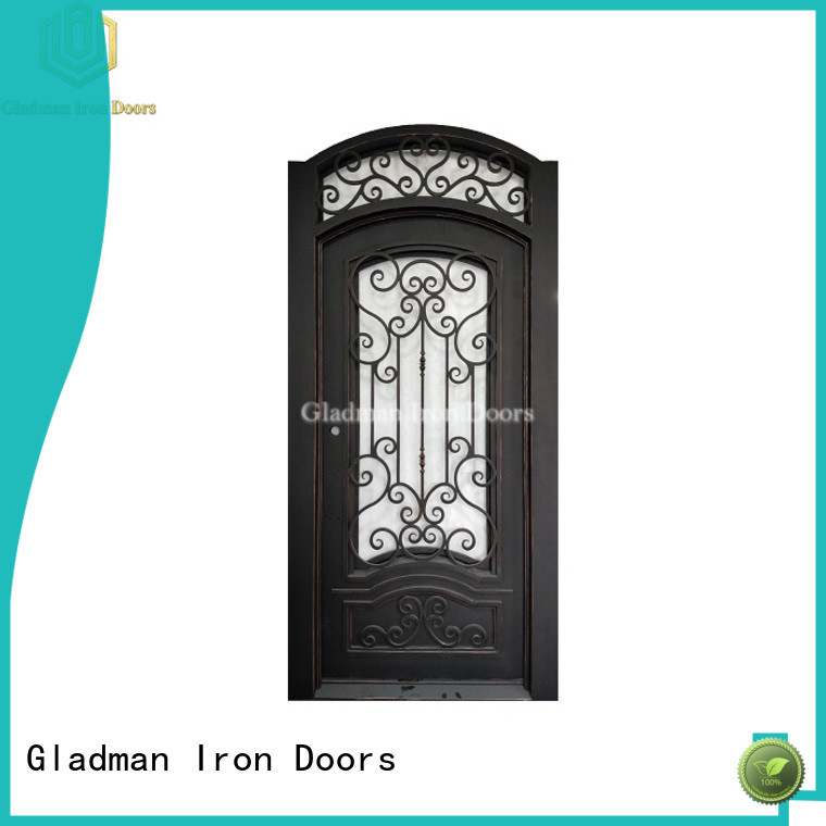100% quality wrought iron doors supplier