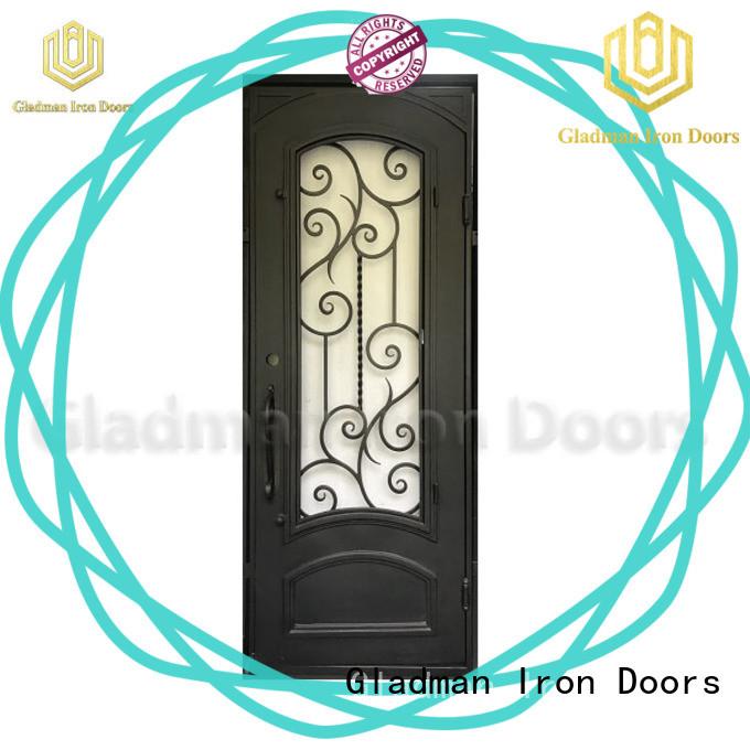 Gladman wrought iron security doors supplier