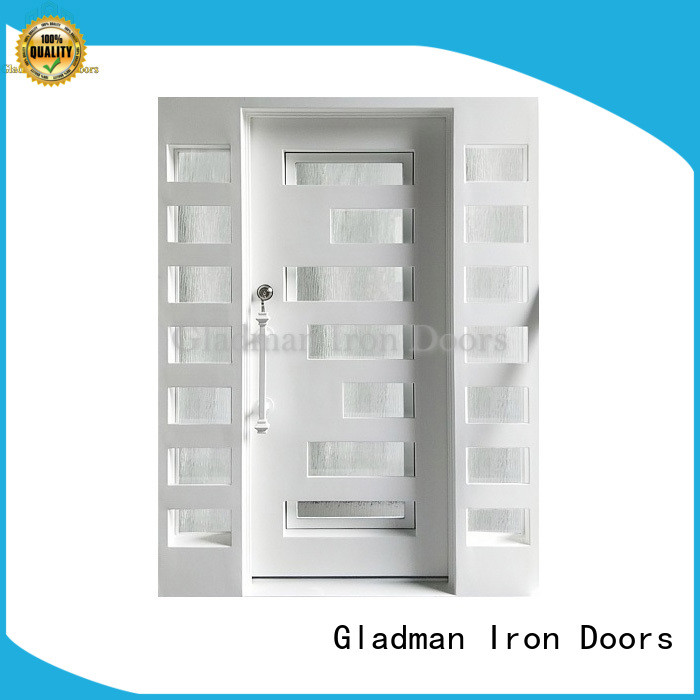 Gladman high-end quality wrought iron doors one-stop services for sale