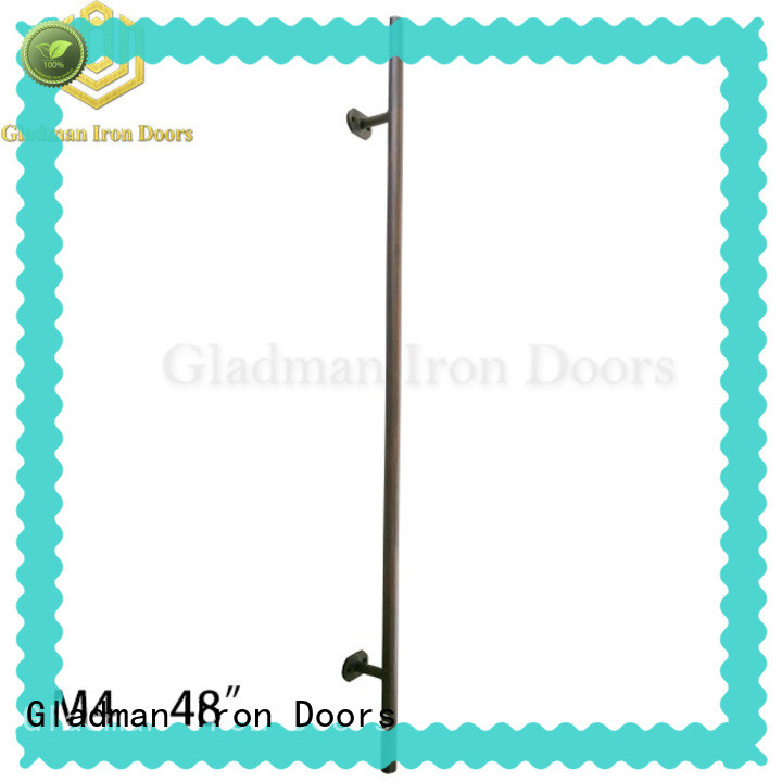 Gladman wrought iron door handles from China for retailer