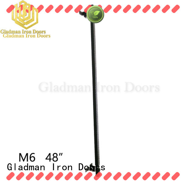 Gladman hot sale wrought iron door handles from China for distribution
