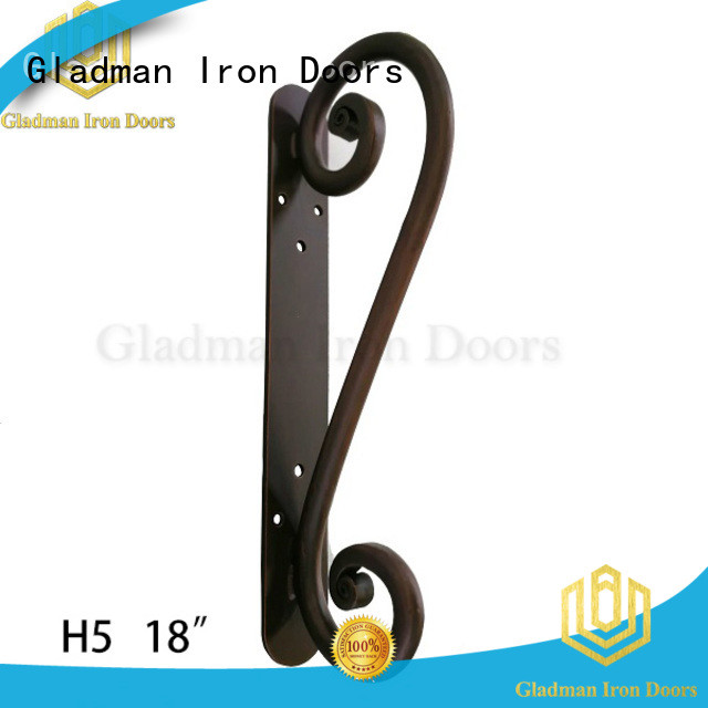 rich experience iron door handles from China for distribution