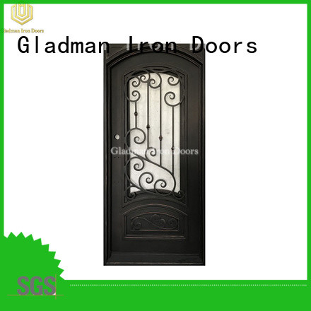 Gladman high quality wrought iron security doors manufacturer