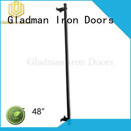 Gladman iron door handles exclusive deal for distribution