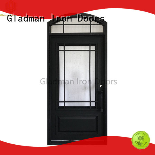 Gladman high quality single iron door design supplier